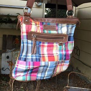 Unionbay crossbody madras purse